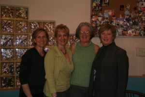 Partners' directors, past and present: (l-r) Teri Thomson Randall, Valerie Ingram, Lorraine Goldman, Ruthanne Greeley